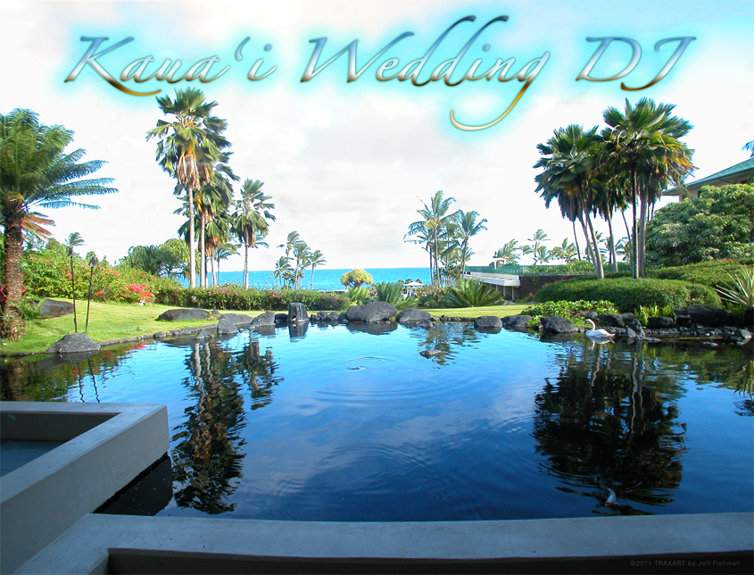 Kauai Wedding DJ Planner Services